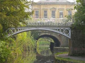 Bridge into Bath