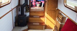 Inside the Narrow Escape boat