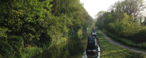 Boats on the Kennet and Avon canal