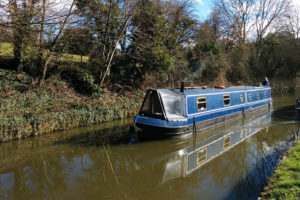 The Narrow Escape on the K&A canal