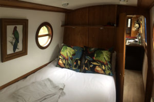 Narrow Escape bedroom