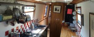 Narrow Escape kitchen