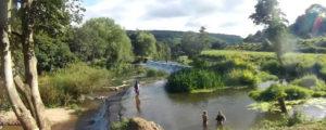Claverton Weir