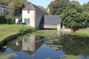 Claverton Weir pump house