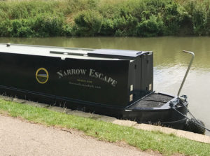 The Narrow Escape on the Kennet and Avon canal