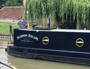 The Narrow Escape on the canal in Bradford on Avon