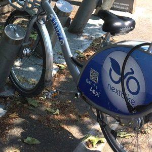 Renting a bike in Bath