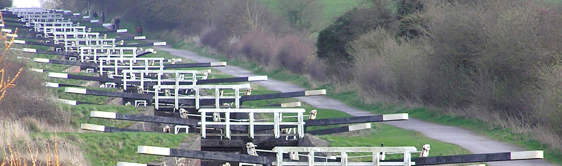 Devizes canal locks
